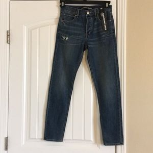 Express High Waisted Vintage Skinny Ankle Jeans